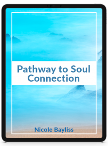 Pathway to Soul Connection cover on an Ipad